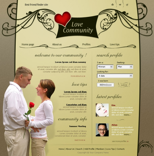 examples of taglines for internet dating